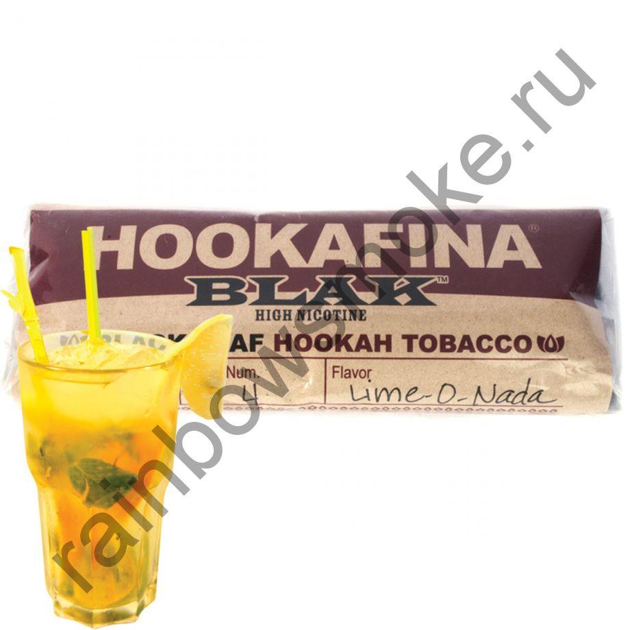 Hookafina Black 250 гр - Lime-o-nada (Лим-о-над)