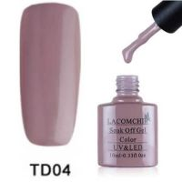 Lacomchir TD 004 гель-лак, 10 мл