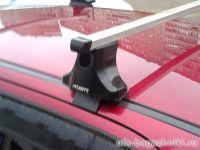 Багажник на крышу Chevrolet Spark (2005-11), Атлант. Прямоугольные дуги.