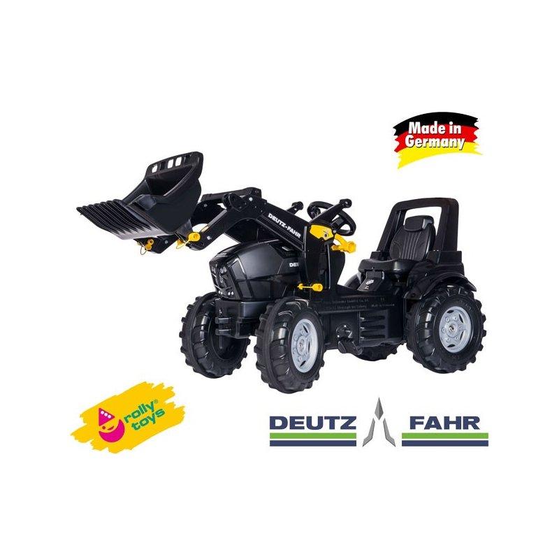 Трактор ROLLY TOYS  DEUTZFAHR  на педалях с ковшом 710348