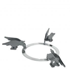 Набор декоративных решеток. Дизайн - птицы. Smeg KPDSN100B