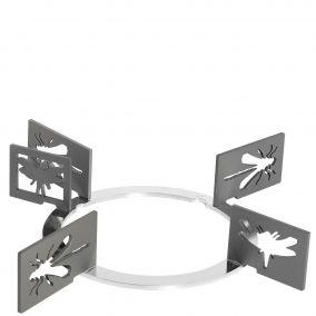 Набор декоративных решеток. Дизайн - насекомые. Smeg KPDSN100I