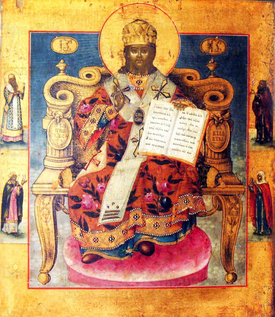 Царь Царем (копия старинной иконы)
