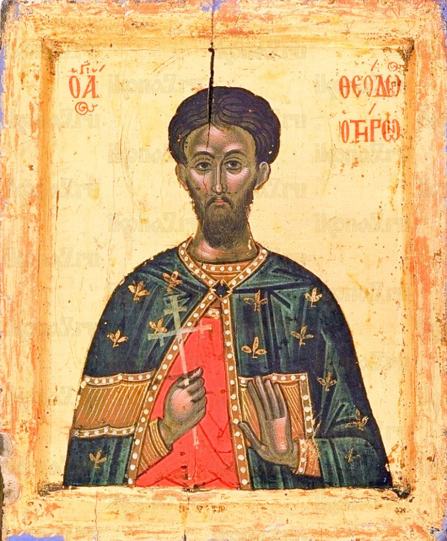 Феодор Тирон (копия иконы 16 века)