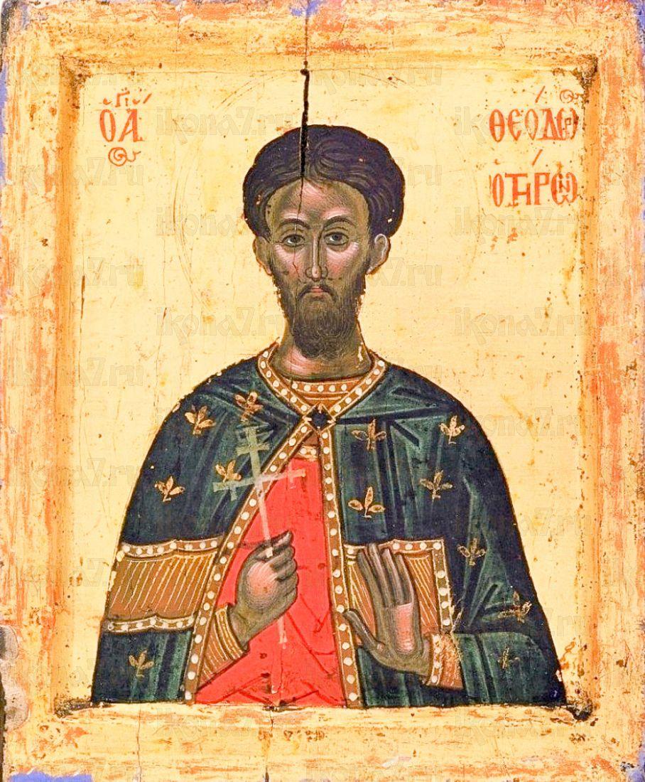 Икона Феодор Тирон (копия 16 века)