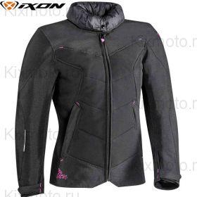 Куртка женская Ixon Helka, Черно-розовая