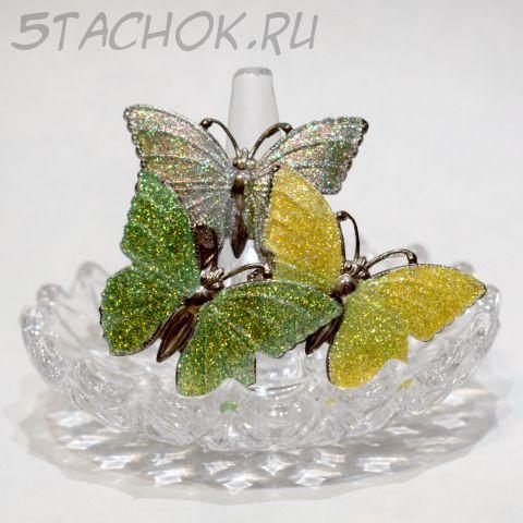 """Брошь """"Три бабочки"""" (США)"""