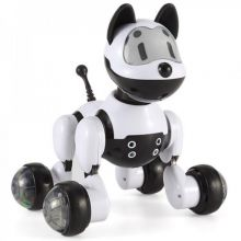 Интерактивная собака Youdy с управлением голосом и руками (English version)