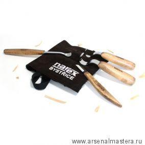 Набор резцов 4 шт для ложек в сумке NAREX 899501