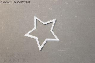 Звездочка - контур 3,2 см