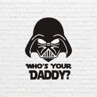 Star wars who`s your daddy векторе