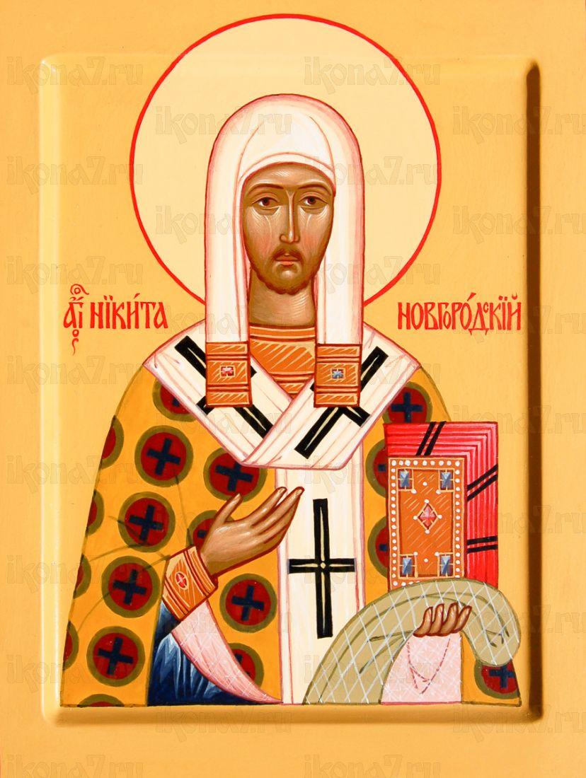 Икона Никита Новгородский