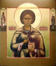 Икона Пантелеймон Целитель (копия старинной)