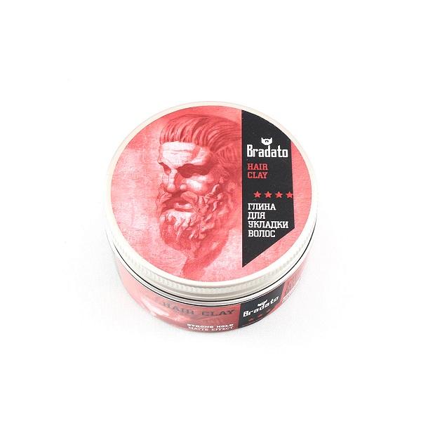 Глина Bradato Fresh Hair Clay для укладки волос
