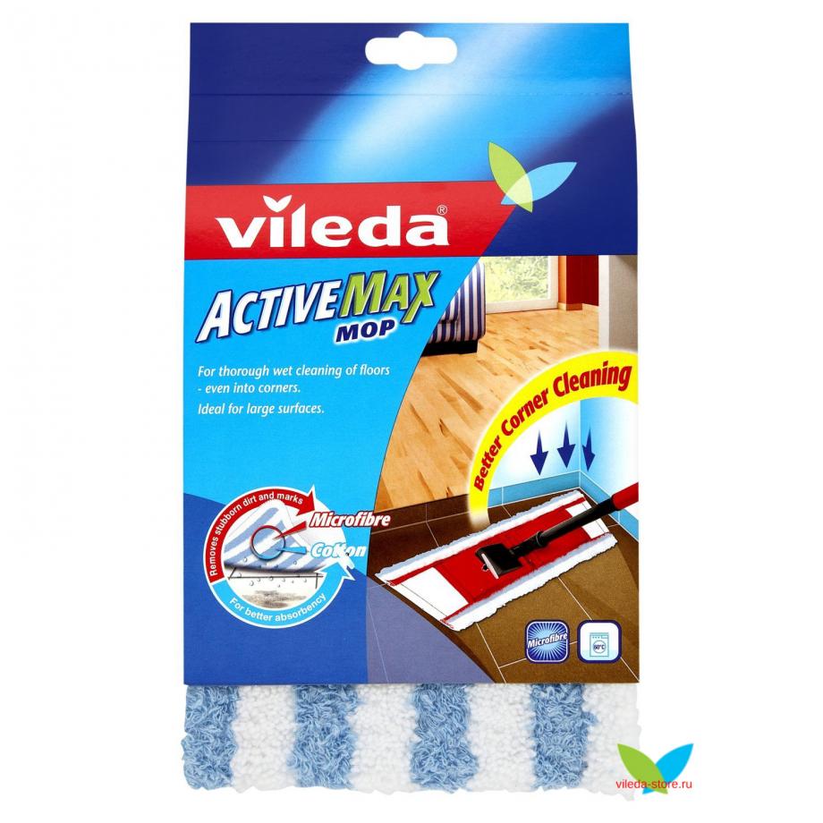 Запасная насадка для швабры Vileda Active Max