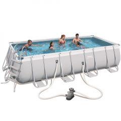 Каркасный бассейн Bestway 56465/56223 (549x274x122) с картриджным фильтром