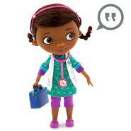 Кукла Доктор Плюшева Дотти говорящая  Дисней