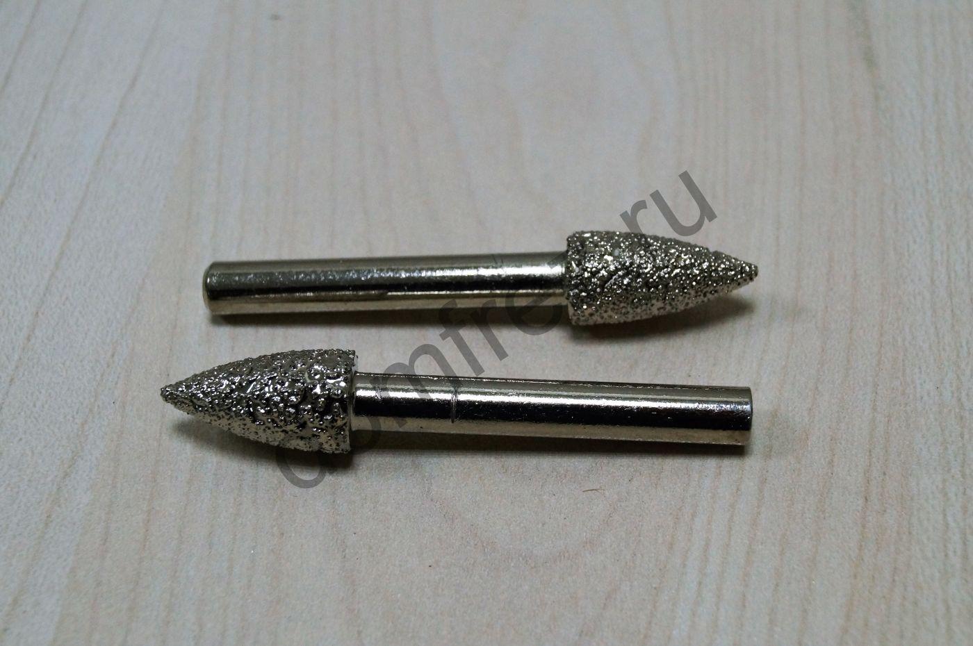 Фреза алмазная концевая фасонная №11 6x10х20x60 A8910611
