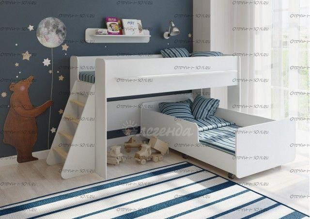 Кровать двухъярусная Легенда-23.3