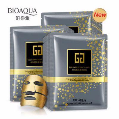 Bioaqua Gold above Beauty Mask тканевая маска с золотом