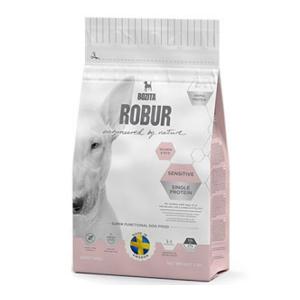 Корм сухой  BOZITA ROBUR Sensitive Single Protein Salmon & Rice для взрослых собак с нормальным уровнем активности и чувствительным пищеварением с лососем 12.5кг