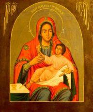 Козельщанская икона Божией Матери (копия 19 века)