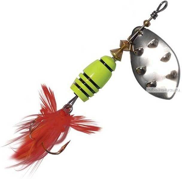 Купить Блесна Extreme Fishing Total Obsession №2 / 7 гр цвет: 16-FluoYellow/S
