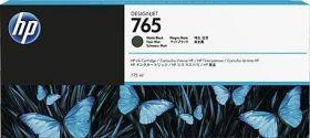 Картридж струйный HP 765 чёрный матовый 775мл F9J55A