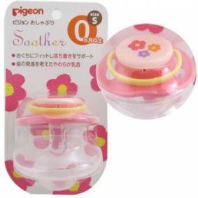 "Пустышка PIGEON ""Цветочек"", 0+ мес, (размер S)."