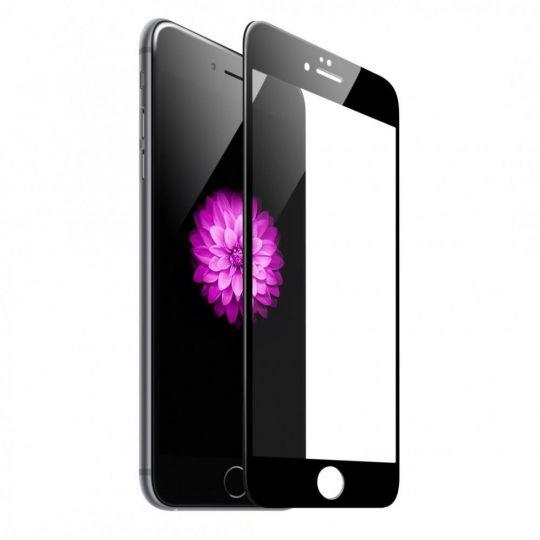 5D-Стекло на экран:iPhone 7,iPhone 8 (белое/чёрное)