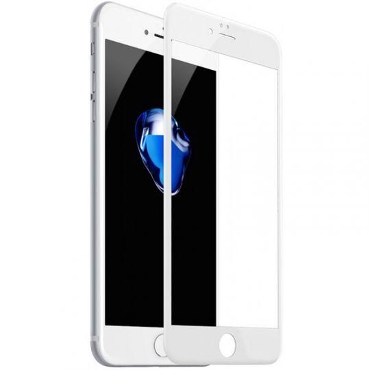 5D-Стекло на экран:iPhone 7Plus,iPhone 8Plus (белое/чёрное)