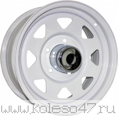 TREBL Off-road 01 8x15/6x139.7 ET-16 D108.7 White