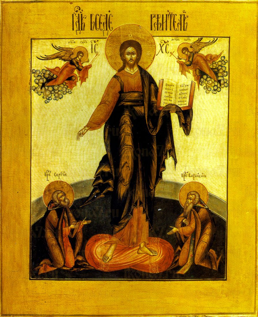 Икона Спас Смоленский (копия 18 века)