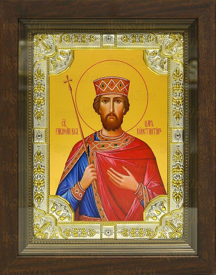 Константин Великий (24х30), серебро