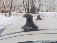 Багажник на крышу Citroen C4 2004-11, hatchback, Атлант, крыловидные дуги