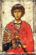 Икона Георгий Победоносец (копия 13 века)