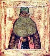 Икона Максим Грек (копия 17 века)