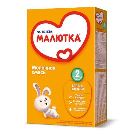 Мол.смесь Малыш-2 (с 6 мес) 350г