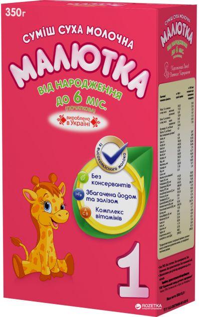 Мол.смесь Малыш-1 (с 0 мес) 350г