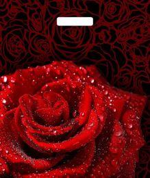 """Пакет с  прор. ручкой 38*45 см """"Пурпурная роза"""" 50 шт. 60 мкм"""