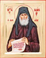 Паисий Святогорец (икона на дереве)