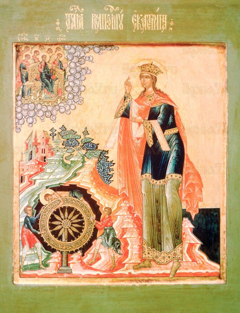 Екатерина Александрийская (копия старинной иконы)