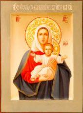 Леушинская икона Божией Матери (Аз есмь с вами и никтоже на вы)