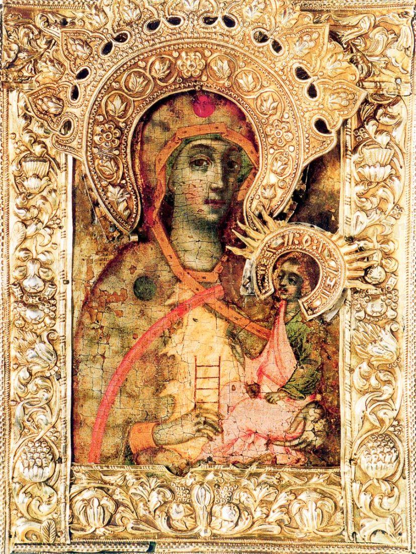 Икона Молченская икона Божией Матери (копия 18 века)