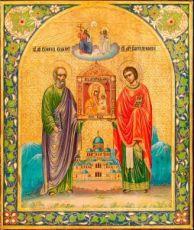 Икона Избавительница (копия 19 века)