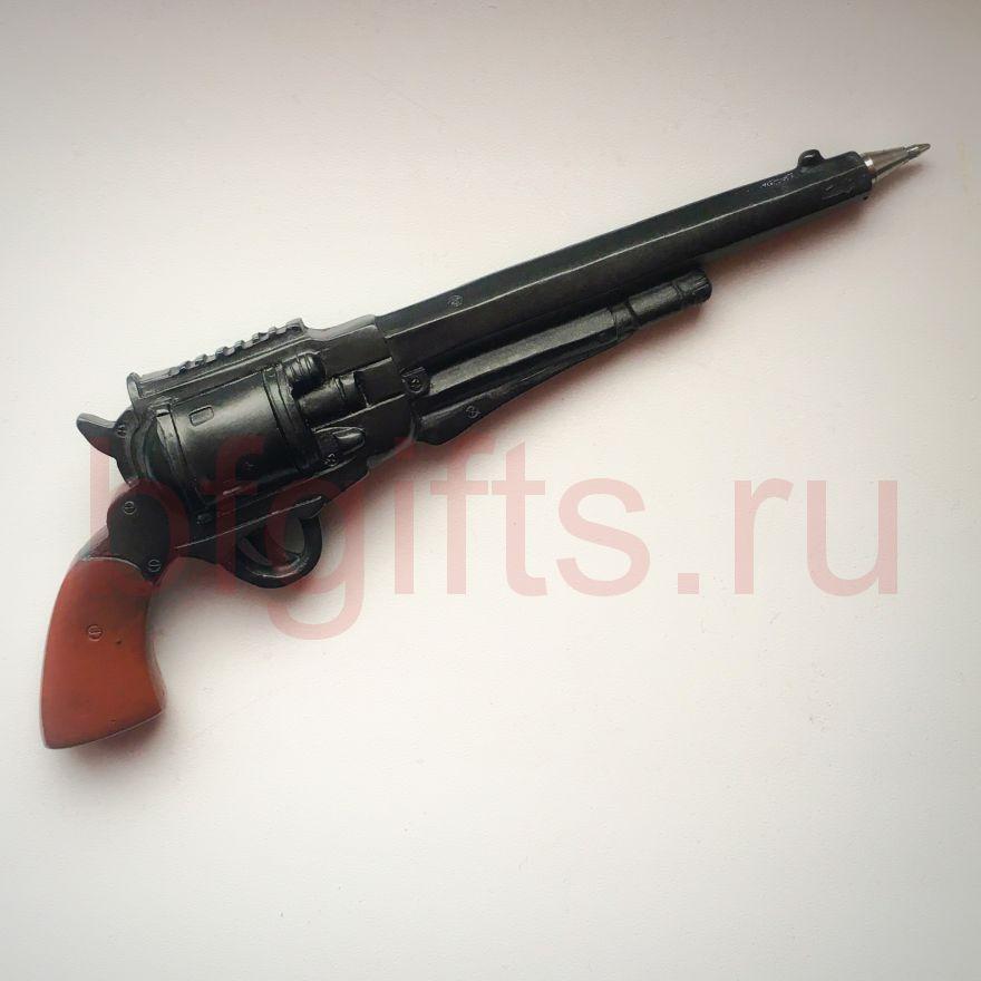 Ручка сувенирная револьвер