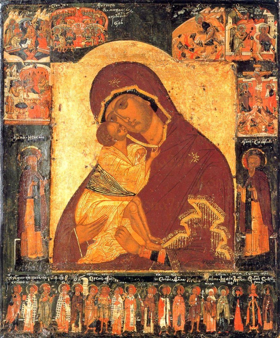 Донская икона Божией Матери (копия старинной)