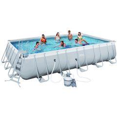 Каркасный бассейн Bestway 56471 (671х366х132) с песочным фильтром