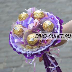 """Букетик из конфет №709 """"Мазурка"""""""