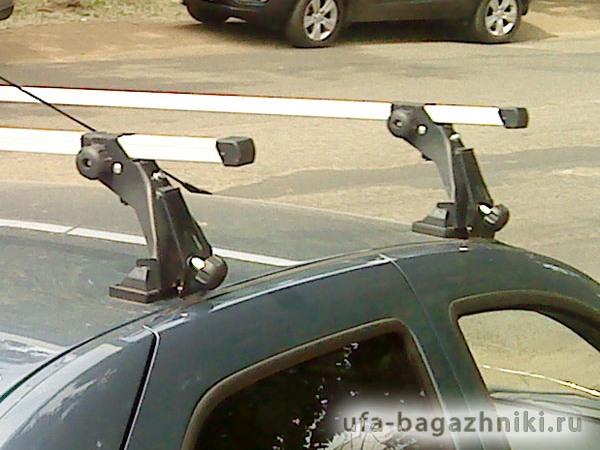 Багажник на крышу Renault Sandero, Атлант, с опорами, алюминиевые дуги
